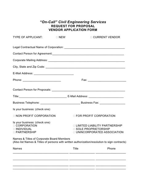 vendor rfp template vendor rfp template 28 images event management rfp