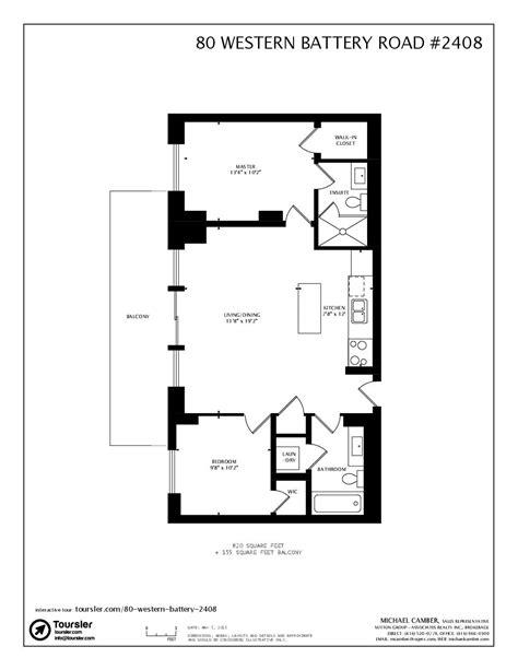 western floor plans 80 western battery road 2408