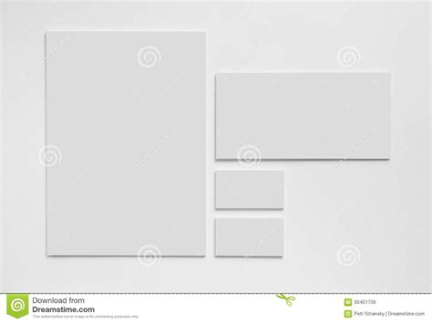 stationery business card templates gray simple stationery mock up template on white stock