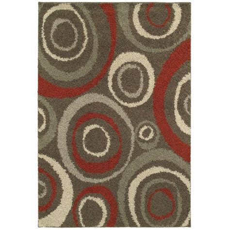 rugs home decorators home decorators collection orbit mushroom 7 ft 10 in x