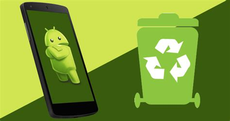 recycle bin android android recycle bin dumpster howtomob