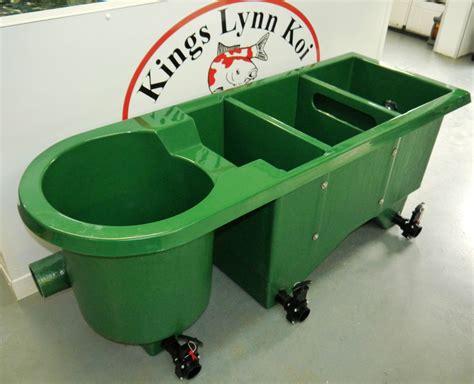 koi pond filter box new klk 12000 combi vortex multi chamber koi pond