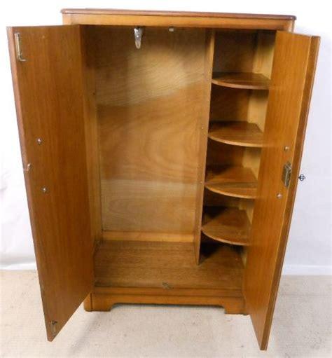 Tallboy Cupboard deco oak tallboy cupboard small wardrobe 205417 sellingantiques co uk