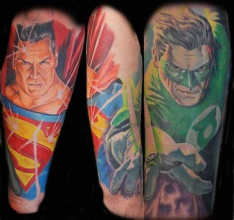 7 bad ss super hero and villain tattoos perfect tattoo