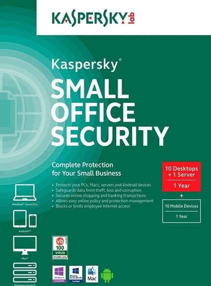 Antivirus Kaspersky Small Office Security kaspersky small office security 10 desktop 1 server buy best price in uae dubai abu dhabi