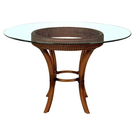 oleanna wicker dining table base abode