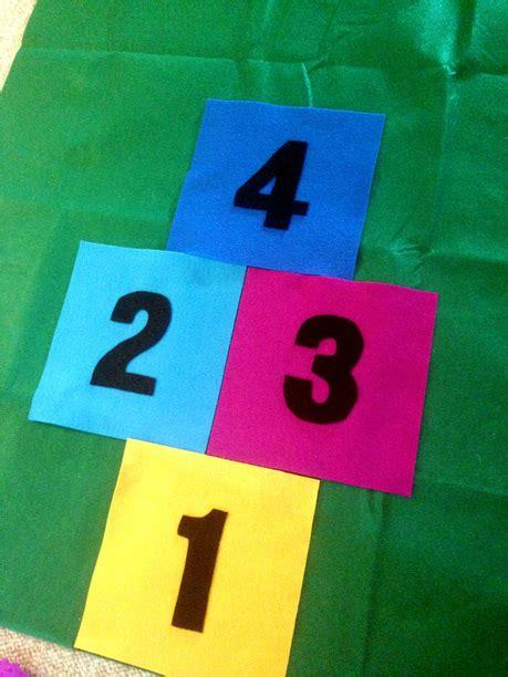 how to make a diy hopscotch mat just measuring up