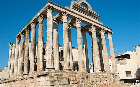 temple of diana temple of diana merida spain flickr destinations