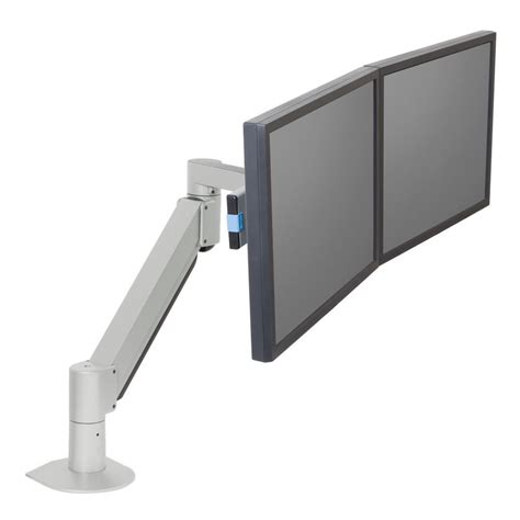 Monitor Lcd Vertical innovative 7500 wing dual lcd monitor arm 27 quot vertical or horizontal ergo experts