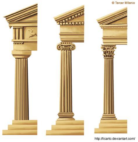 Grecian Columns Columns By Licarto On Deviantart