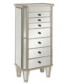 Chest Armoire Powell Mirrored Jewelry Armoire By Oj Commerce 233 314