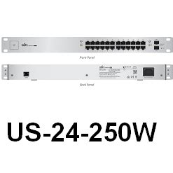 Unifi Us 24 250w Managed Poe Gigabit Switch With Sfp 1 unifi switch 24 250w ubwh australia