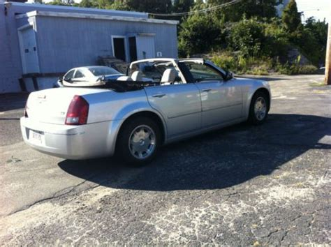 chrysler 300 convertible conversion purchase used custom 2005 chrysler 300 convertible 8 522