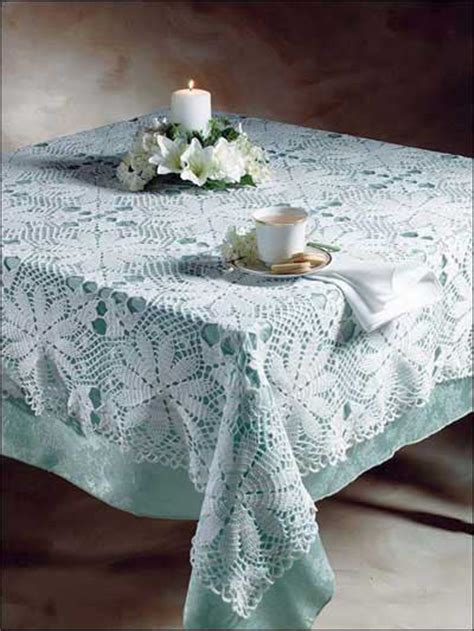 white tablecloth pattern crochet for the home kitchen crochet patterns white
