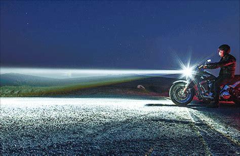 Motorrad Led Scheinwerfer Nachr Sten by Harley Mit Led Leuchten Nachr 252 Sten Tourenfahrer