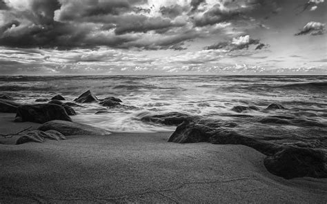 black and white wave wallpaper grayscale beach wallpapers grayscale beach stock photos