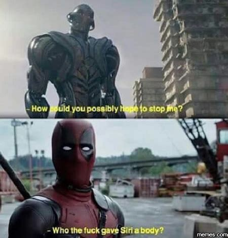 Dead Pool Meme - deadpool meets ultron memes com