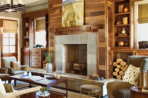 25 cozy ideas for fireplace mantels southern living fireplace with unexpectecd materials 25 cozy ideas for