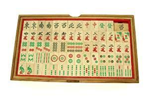 Handmade Mahjong Set - mah jong handmade wooden mah jong set toys