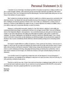 statement of purpose statement of purpose admissions