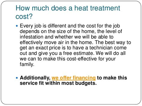 how much does bed bug heat treatment cost bed bug heat treatment cost interesting heat bed bugs