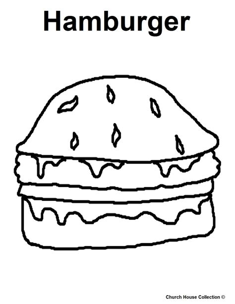 hamburger template printable hamburger coloring coloring coloring pages