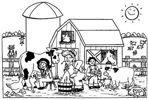 animals in the barnyard coloring page barn house kleurplatenwereld nl gratis boerderij kleurplaten