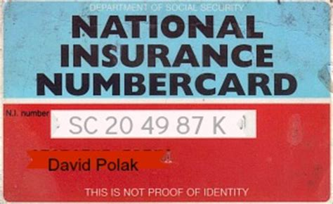 National Insurance Letter Lost National Insurance Number How To Apply For Ni Number