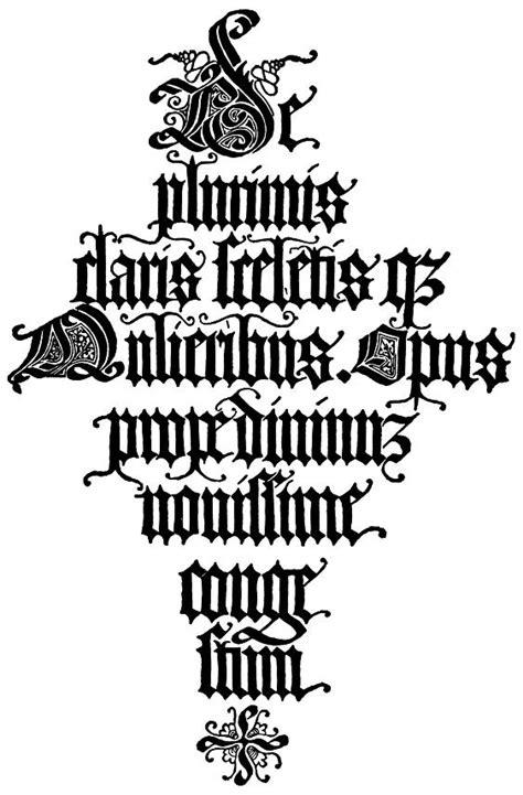 lettere gotiche antiche gotici at gi 242 fuga type