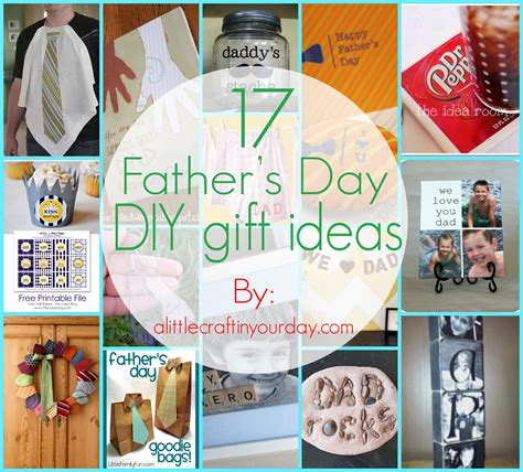 17 fathers day diy gifts a little craft in your day