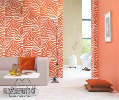 Tapete Oder Farbe by Tier Tapeten In Knalligen Farben Pop Skin Rasch