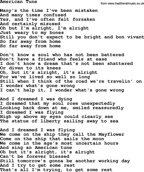 song lyrics willie nelson willie nelson song american tune lyrics