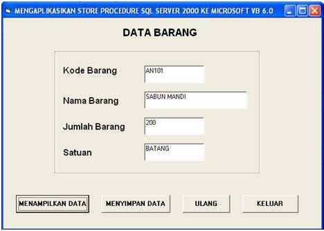 perintah query membuat database membuat database server dengan perintah store procedure