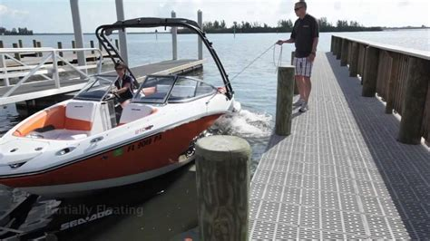 wake shaper jet boat sea doo boat how to clinix how to launch and dock a sea