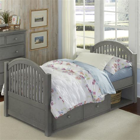 twin bed headboard and footboard ne kids lake house twin bed with arched headboard and