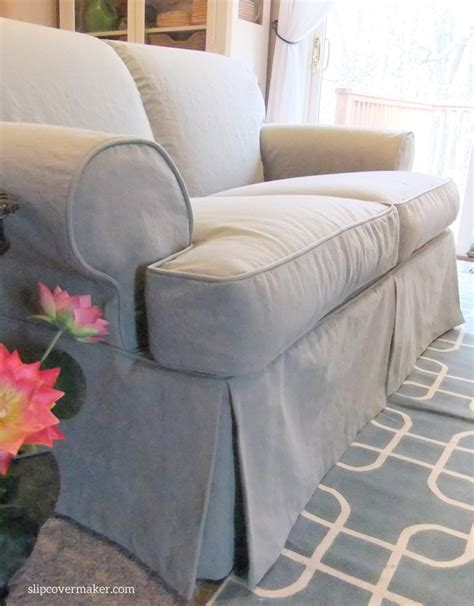 How To Make Sofa Slipcovers This Cotton Poly Canvas Is Slipcover It S Weighty