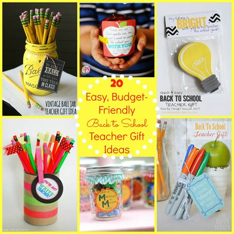 day gifts for teachers back to school gift ideas for the free