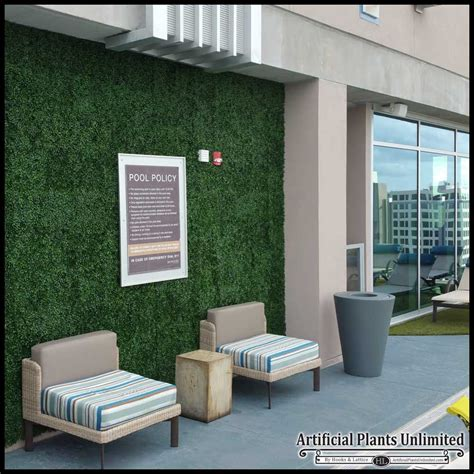Artificial Green Wall Outdoor - artificial boxwood artificial plant walls