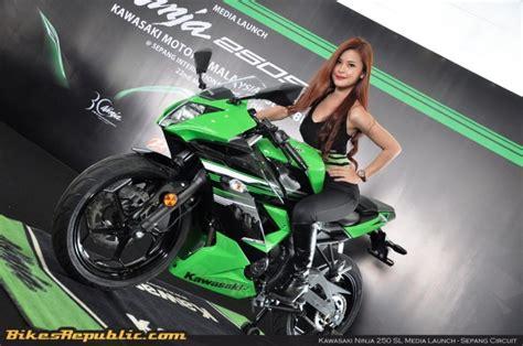 Mantel Motor Kawasaki 250sl 4 250sl debuts in malaysia bikesrepublic