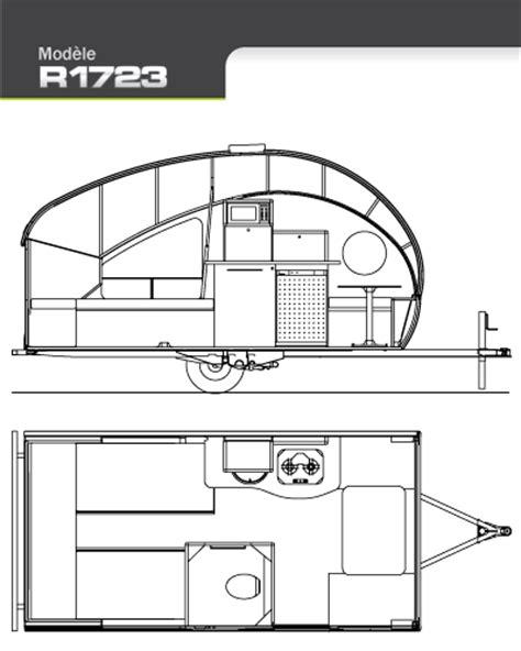 teardrop trailer floor plans safari alto 1723 floor plan from starling travel cing