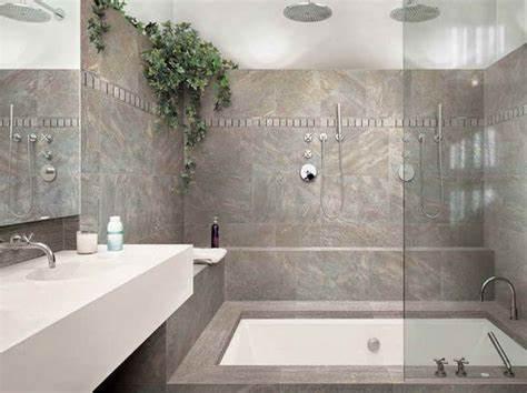 bathroom tile ideas for a small bathroom 2017   Grasscloth Wallpaper