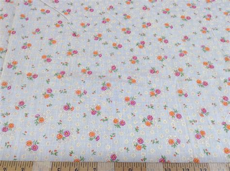 Quilting Fabric Cheap by Discount Fabric Quilting Cotton Pink And Orange Floral
