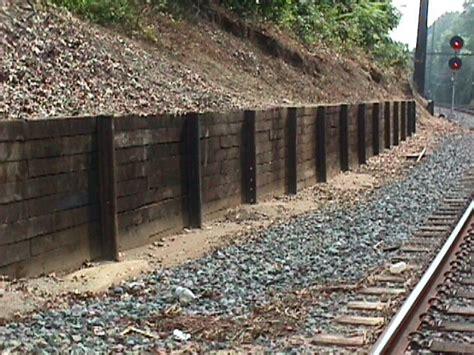 railroad 5 phto gallery retaining wall