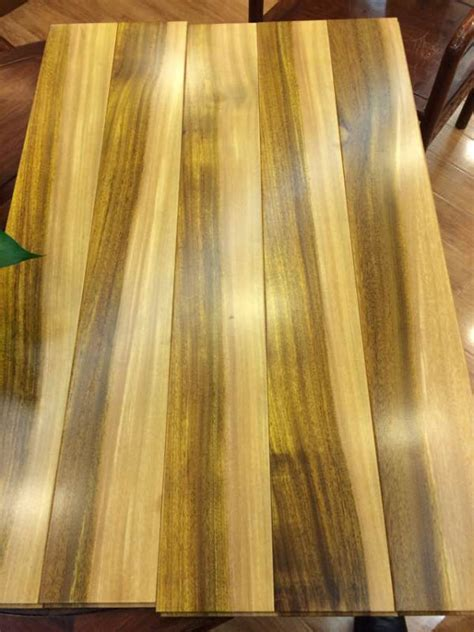 multi color natural african iroko hardwood flooring