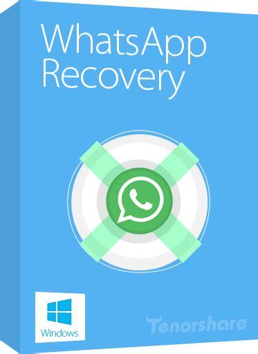 tutorial whatsapp recovery centro de suporte tenorshare