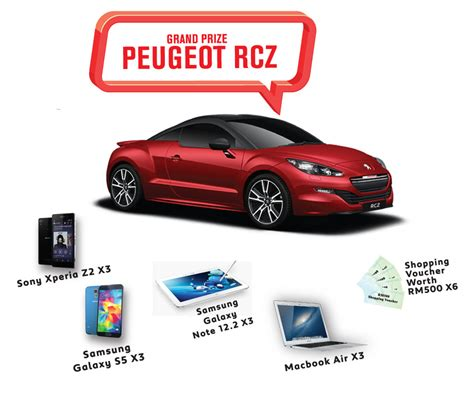 peugeot drive peugeot drive 2 win contest contests events malaysia