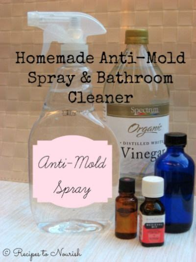 bathroom cleaners mold removal and sprays on