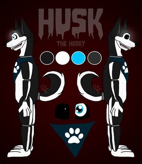 husk the husky fnaf oc by riverbelle on deviantart