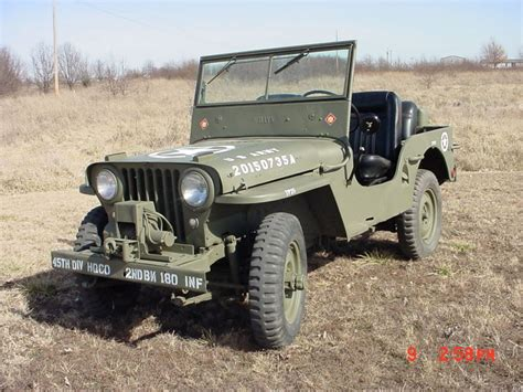willys jeepster for sale 1947 willys jeep cj2a for sale