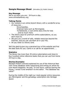 Talking Points Template Word by Barber Word Of Marketing Workshop Webinar Handout